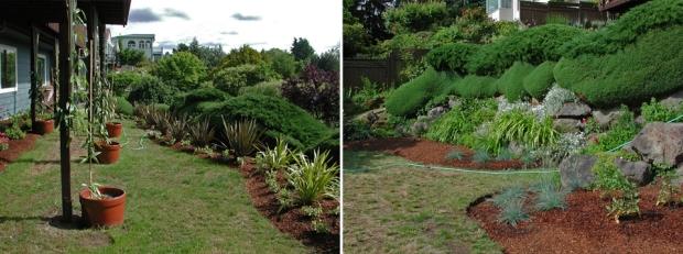 Spring 2006:  Expanding the garden beds