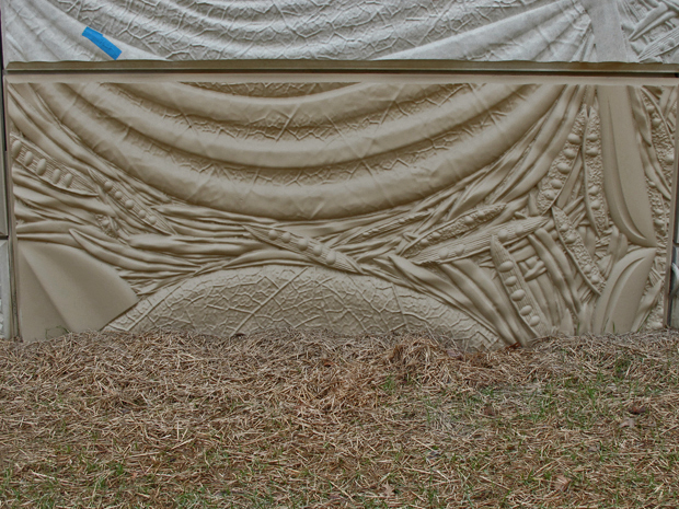 Arlington Boulevard MSE Walls, Arlington, VA, Stain Test